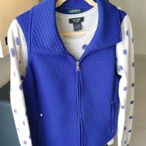 Set- Ralph Lauren vest & sweater